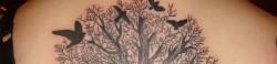 Тату дерева