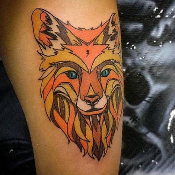 картинки тату лис