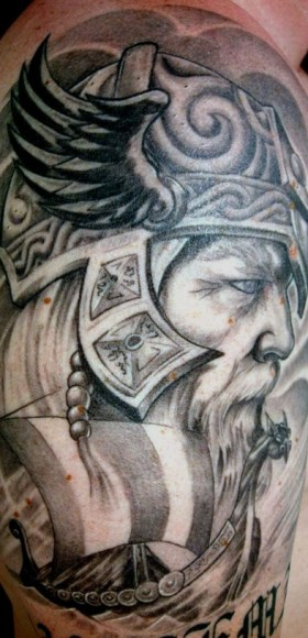 фото тату викинги
