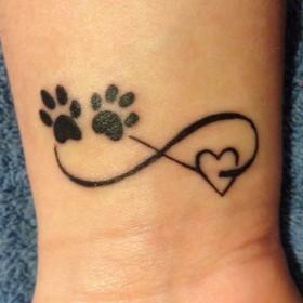 Татуировки для девушек. Фото татуировок 94