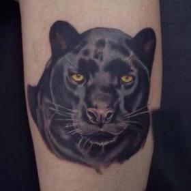 Значение татуировки Пантера или что означает тату Пантера? 21