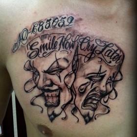 татуировки фото маски