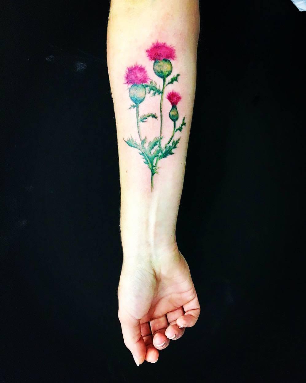 Татуировки для девушек фото на руке 2018 г