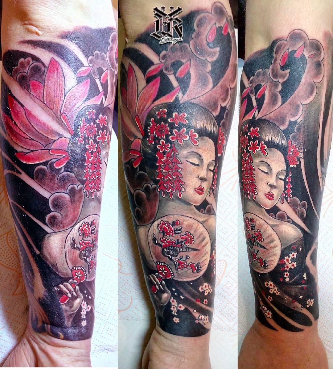 Китайский стиль в тату