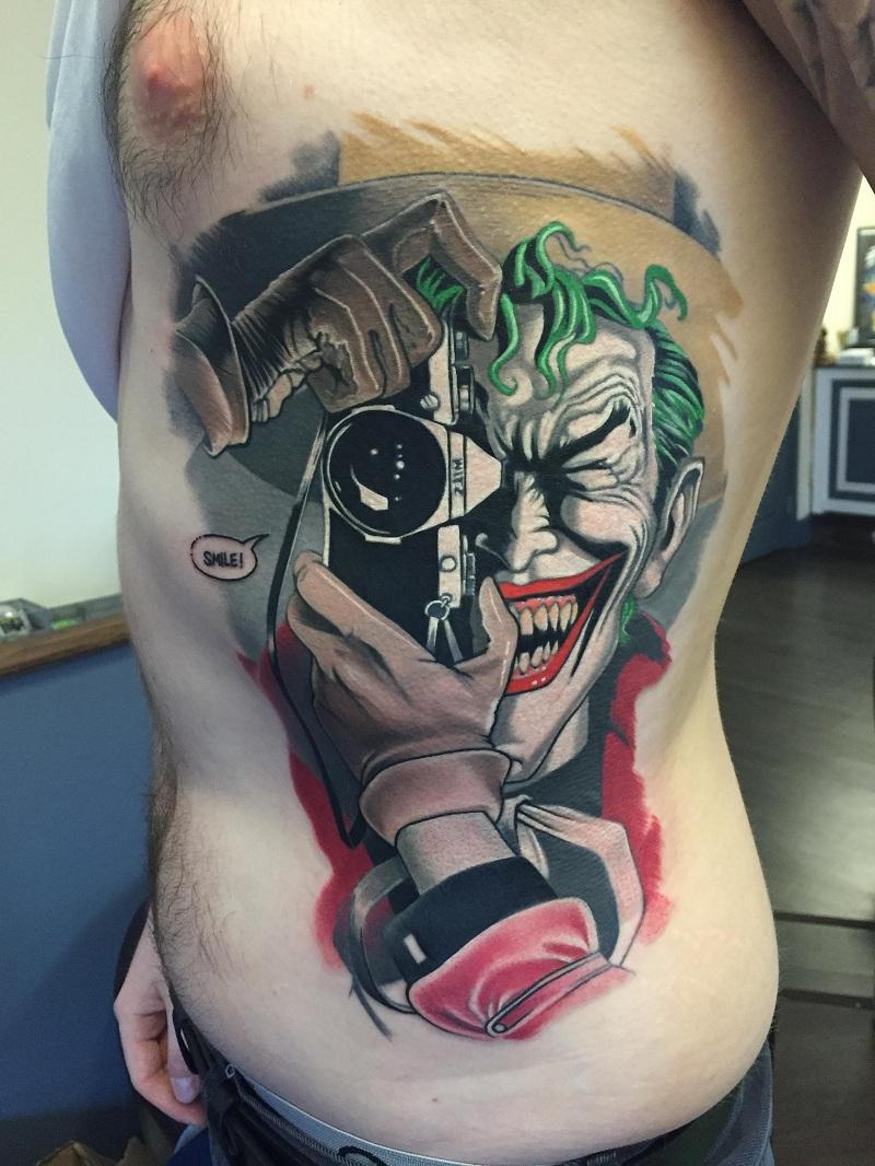 Джокер фото для тату