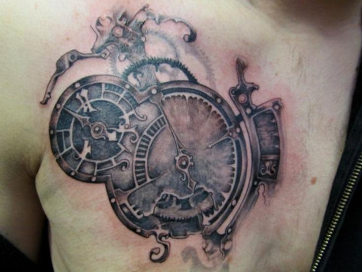 картинки тату часы