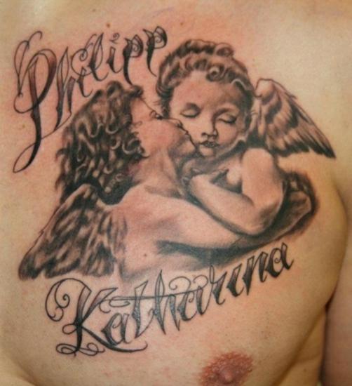 Angel Tattoos  Angel Wings   Free Tattoo Designs