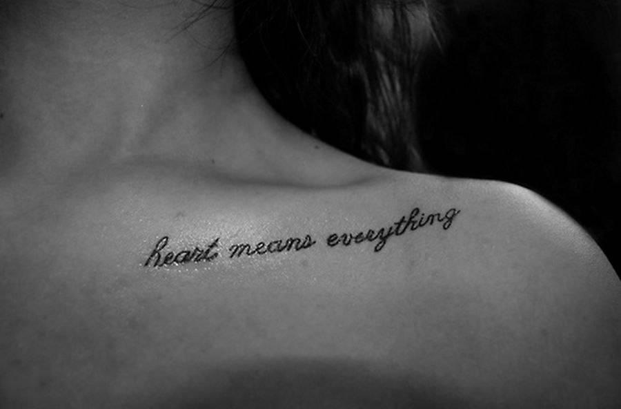 Татуировки с переводом: лучшие эскизы (фото) 62