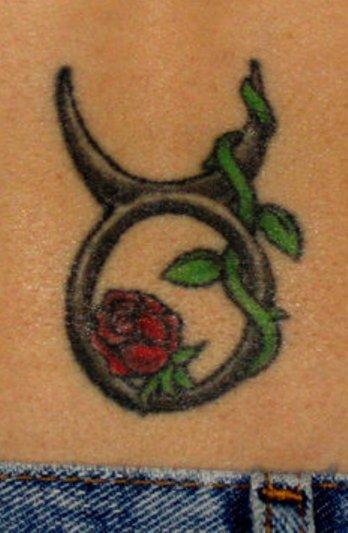 рисунки татуировок для девушек со знаком тельца