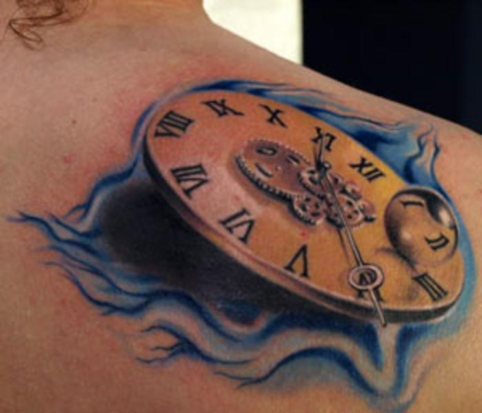 циферблатом с туту перепутанным часов значение