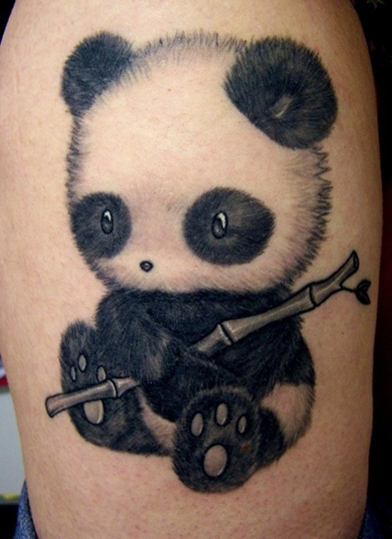 панда тату картинки