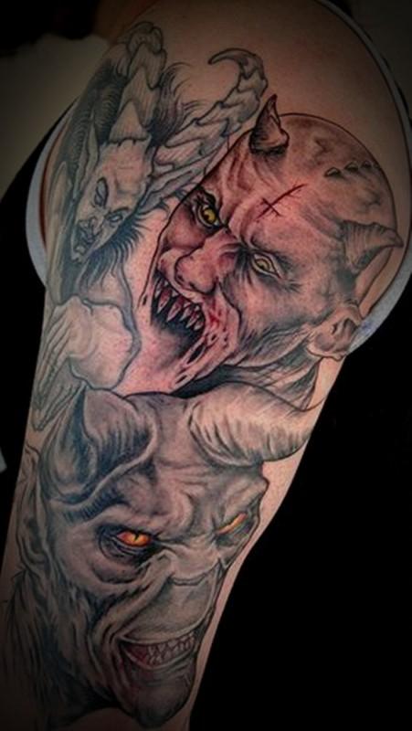Дьяволы в тату