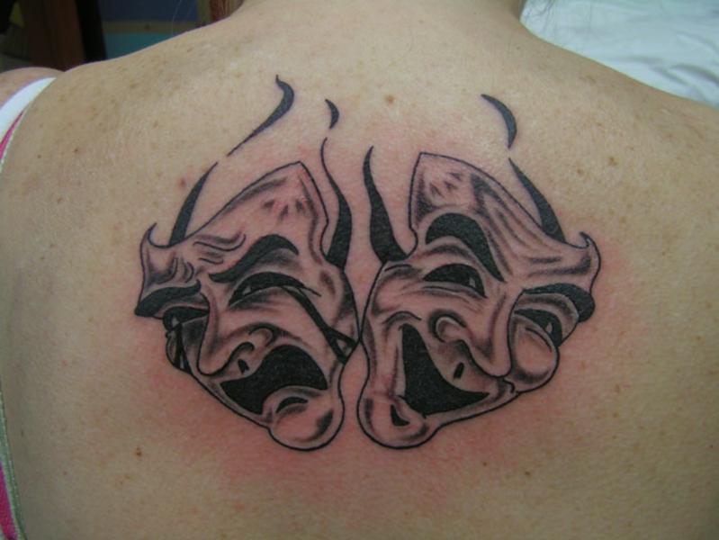 картинки тату маски