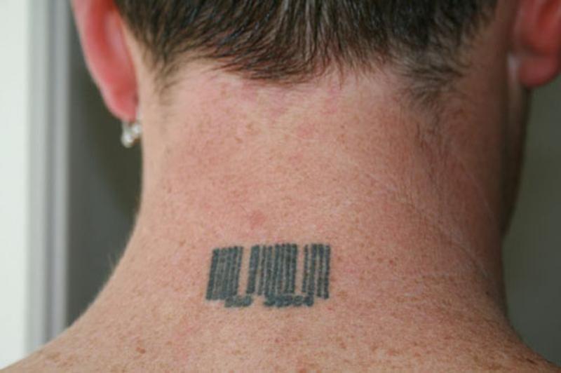Значение татуировок Штрихкод