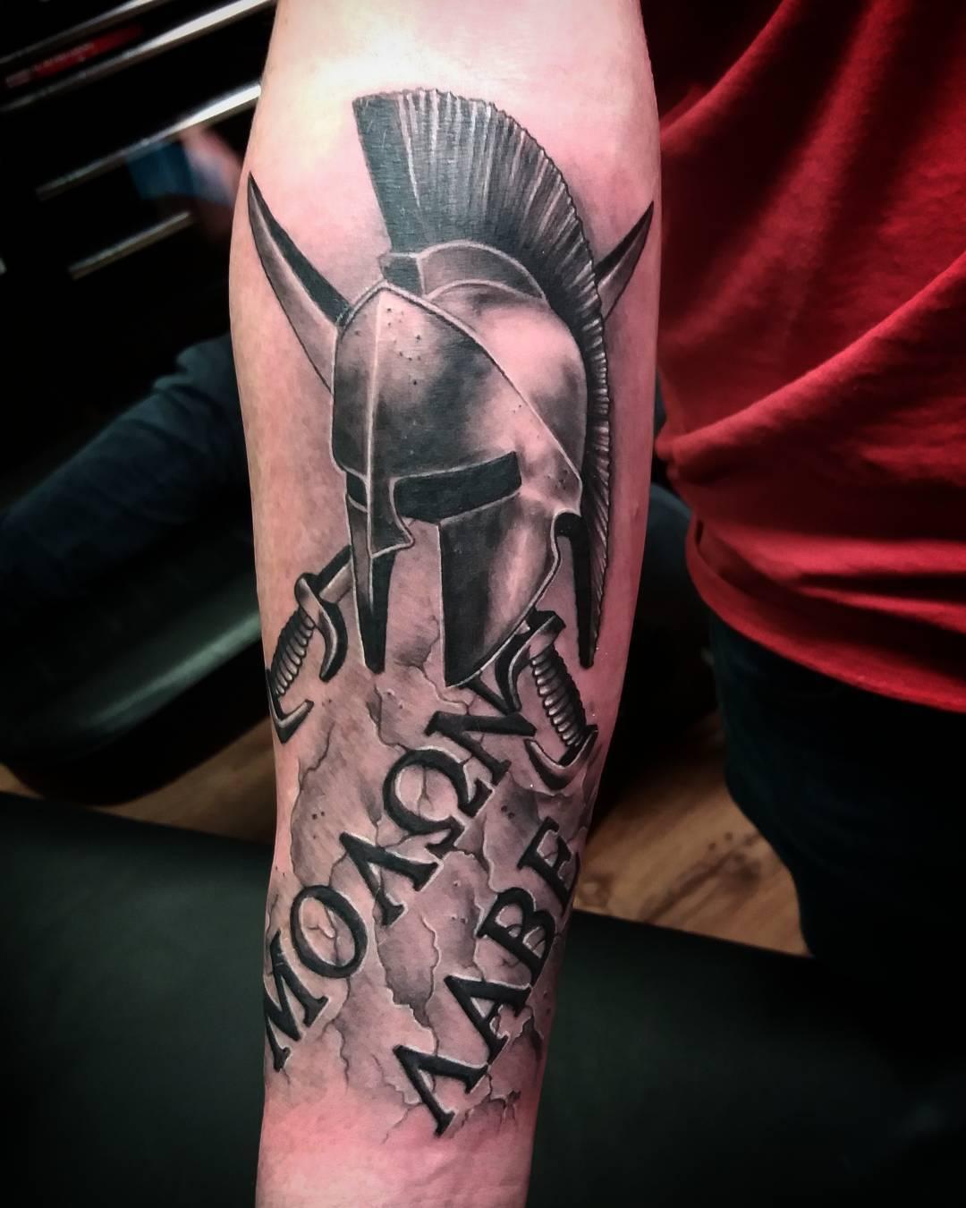 Татуировки 300 спартанцев фото