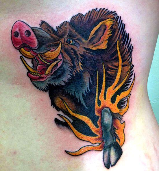 татуировки дикого кабана скачать лучшее