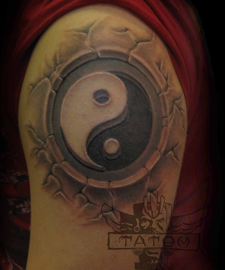 Фото татуировок с инь янь