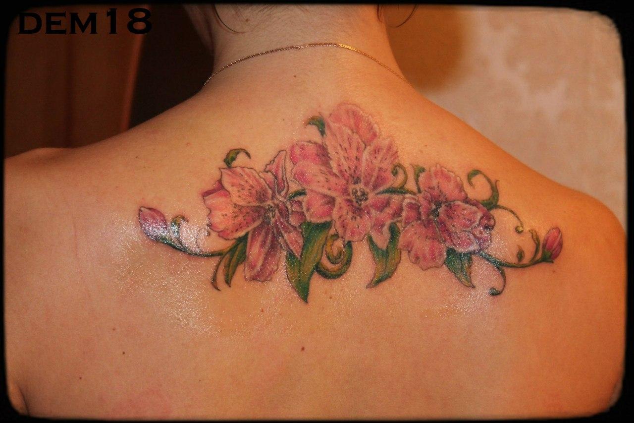 50 идей для маленьких красивых татуировок для девушек 6