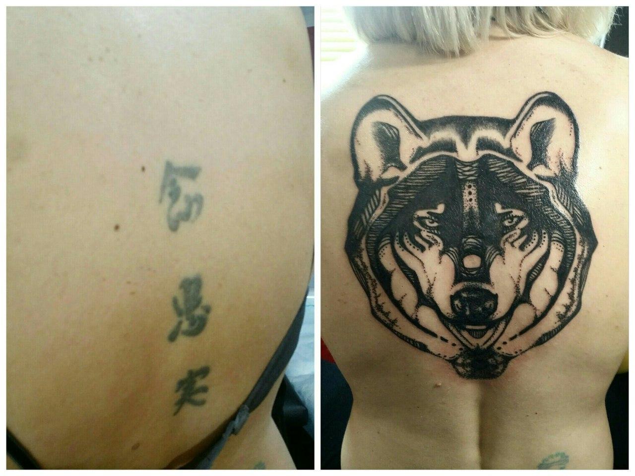 Тату волк: 12 значений, 78 фото и 20 лучших эскизов - Vse-o-tattoo 50