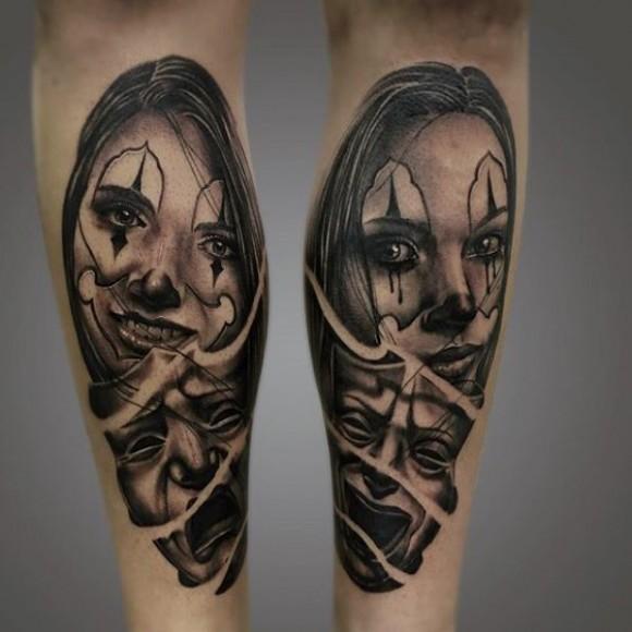Неудачные татуировки с лицами людей и головами животных (15 фото ... | 580x580