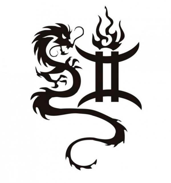 Татуировки картинки знаков зодиака близнецы