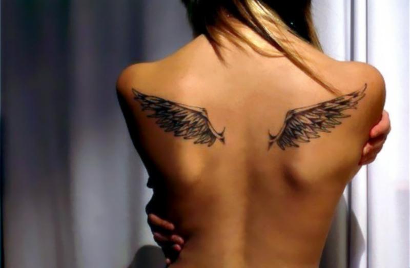 собраны два крылья тату фото картинки днем
