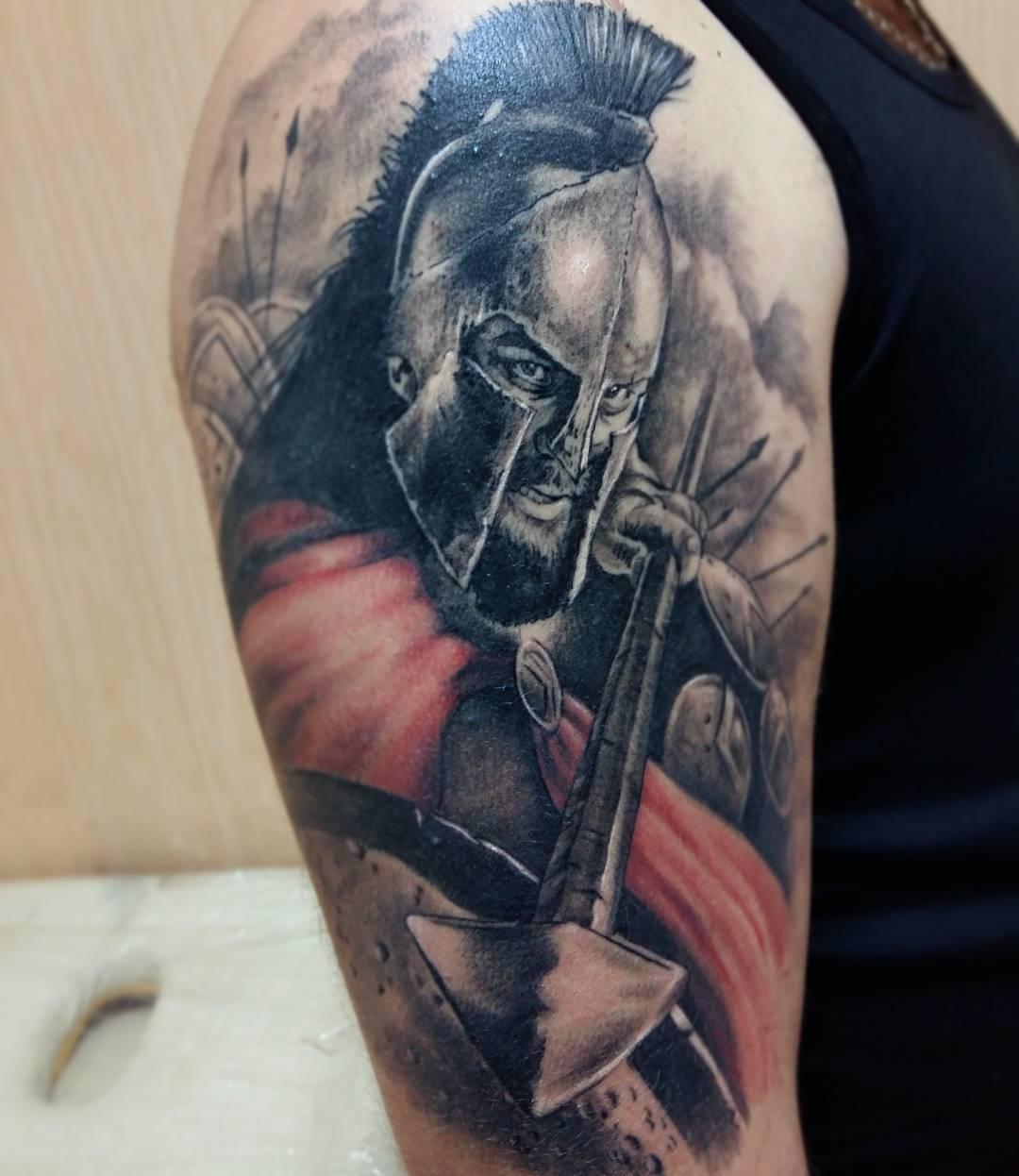 достаточно фото спартанцев тату время этой операции