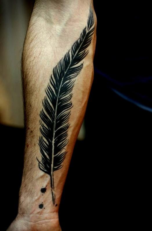 фото татуировок перо нива позволяет без