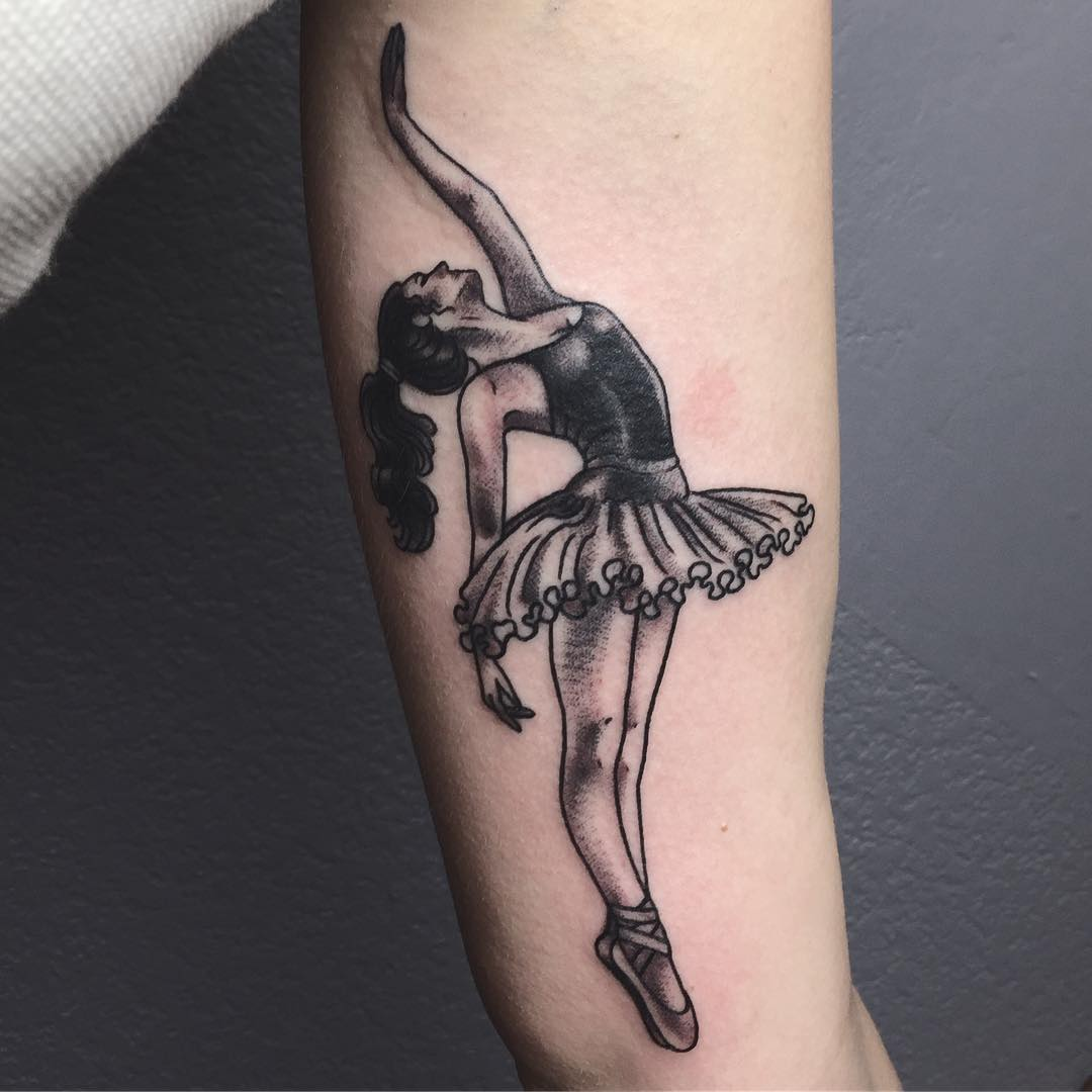 картинки тату балерин просто убит