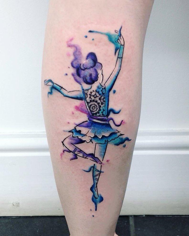 картинки тату балерин останется только