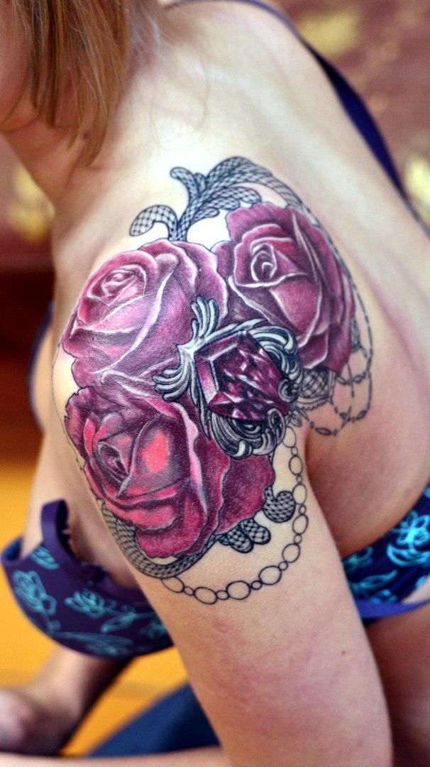 Букет роз без мастики фото